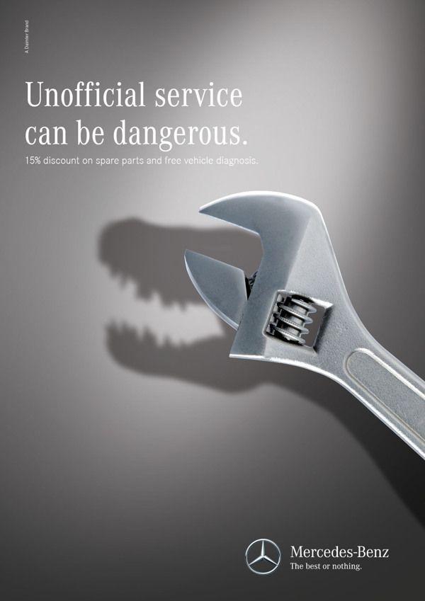 An Effective Print Advertisement from Mercedes-Benz