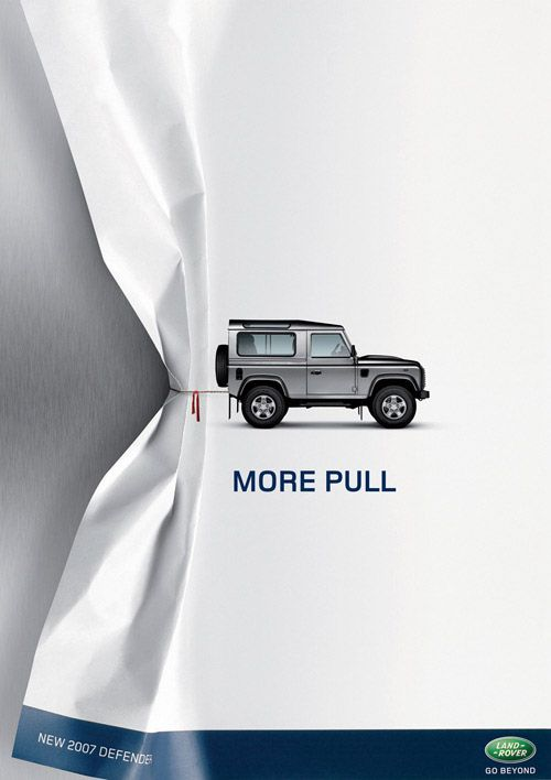 delivering the brand power - Land Rover