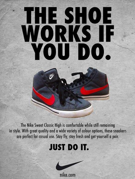 An Effective Print Advertisement of Nike