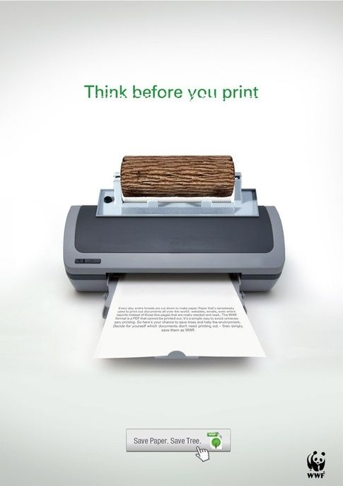 Creating an Effective Print Advertisement - WWF