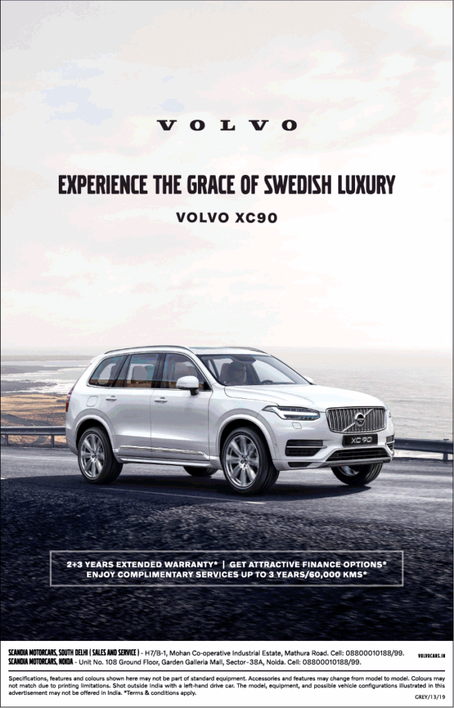 Creating an Effective newspaper ad- Volvo